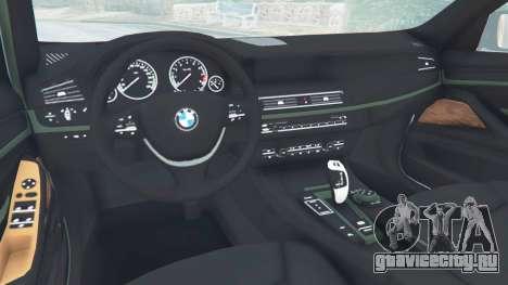 BMW 525d (F11) Touring 2015 (US) для GTA 5 вид справа