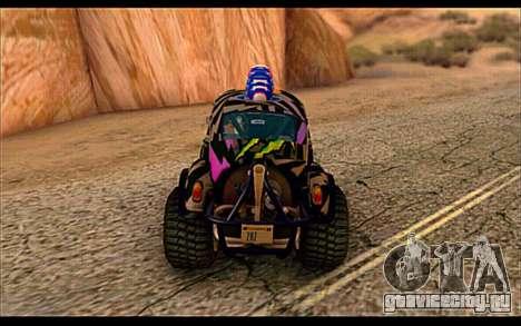 VW Baja Buggy Gymkhana 6 для GTA San Andreas вид справа