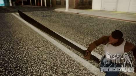Machete from Friday the 13th Movie для GTA San Andreas третий скриншот