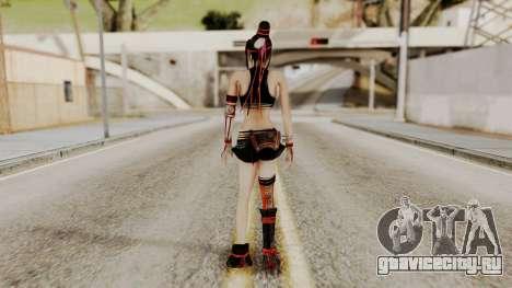 Dynasty Warriors 8 - Bao Sannian Black Costume для GTA San Andreas третий скриншот