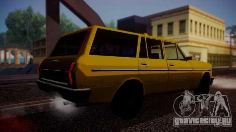 Taxi-Perennial для GTA San Andreas вид слева
