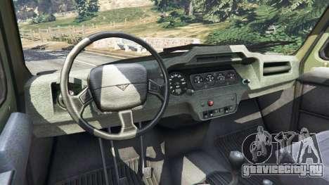 УАЗ-3159 Барс [Beta] для GTA 5 вид сзади справа