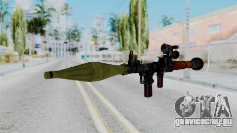 Rocket Launcher from RE6 для GTA San Andreas второй скриншот