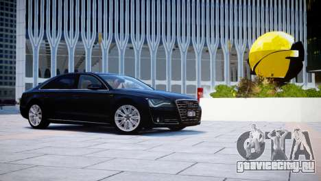 Audi A8L W12 2013 для GTA 4