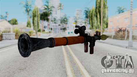 Rocket Launcher from RE6 для GTA San Andreas третий скриншот