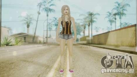 The Jack Daniels Girl Overhauled для GTA San Andreas второй скриншот