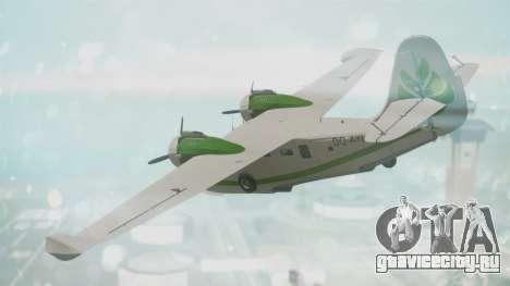 Grumman G-21 Goose DQAYL для GTA San Andreas вид слева