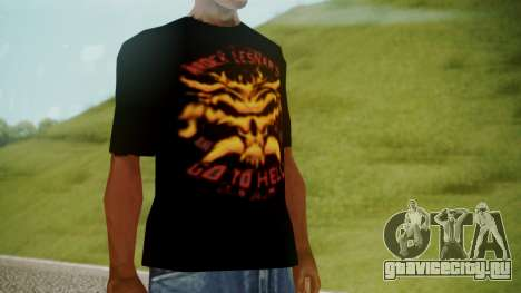 Brock Lesnar Shirt v1 для GTA San Andreas второй скриншот
