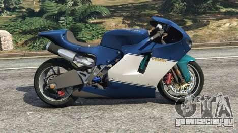 Ducati Desmosedici RR 2012 для GTA 5 вид слева