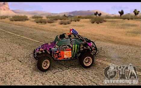 VW Baja Buggy Gymkhana 6 для GTA San Andreas вид слева