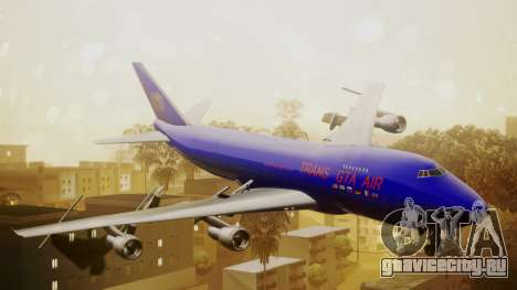 Boeing 747-200 Trans GTA Air для GTA San Andreas
