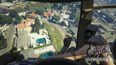 MH-6/AH-6 Little Bird Marine для GTA 5 шестой скриншот