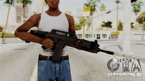 M4 from RE6 для GTA San Andreas третий скриншот