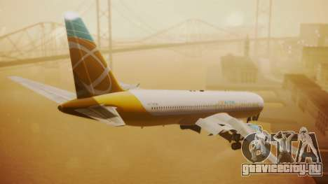 Boeing 767-300 Orbit Airlines для GTA San Andreas вид слева