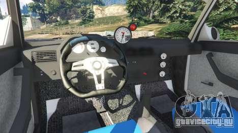 ВАЗ-2107 Redline 61 для GTA 5 вид справа
