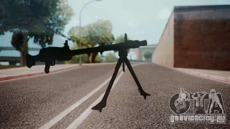 MG-34 Red Orchestra 2 Heroes of Stalingrad для GTA San Andreas второй скриншот