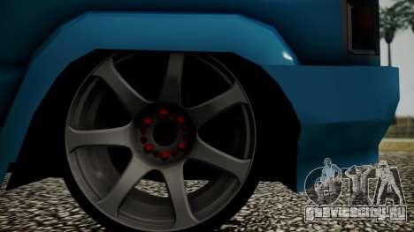 Toyota Kijang Tuned Stance для GTA San Andreas вид сзади
