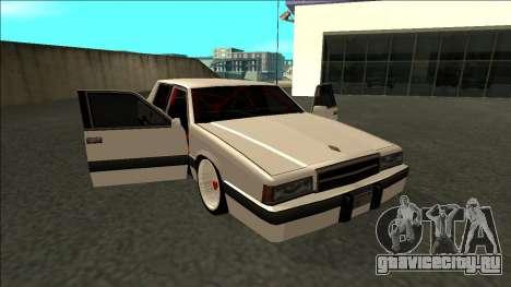 Willard Drift для GTA San Andreas вид сбоку