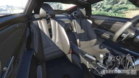 Pagani Huayra 2013 для GTA 5 руль и приборная панель