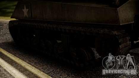 M4A3 Sherman для GTA San Andreas вид сзади слева