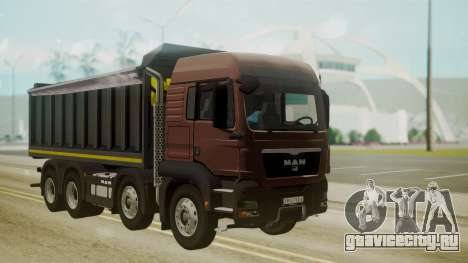 MAN TGS 8x4 Dumper для GTA San Andreas