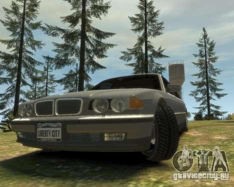 BMW L7 (750IL E38) 2001 для GTA 4