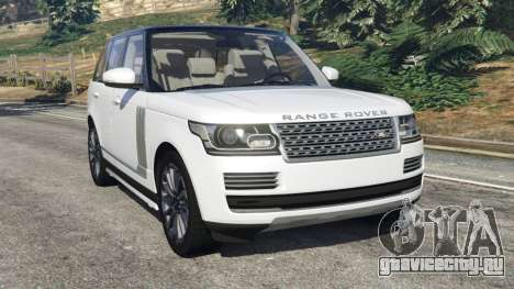 Range Rover Vogue 2013 v1.2 для GTA 5