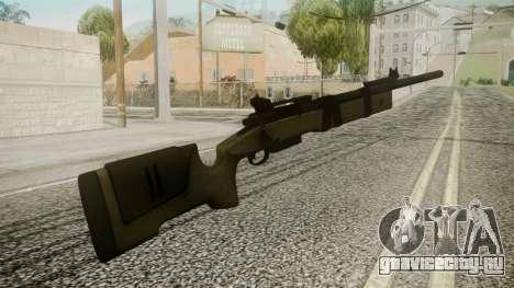 M40A5 Battlefield 3 для GTA San Andreas второй скриншот