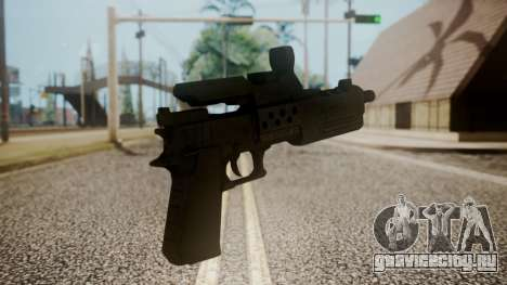 Silenced Pistol from RE6 для GTA San Andreas второй скриншот