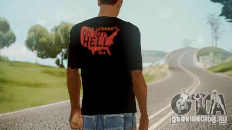 Brock Lesnar Shirt v1 для GTA San Andreas третий скриншот