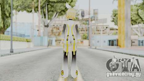 Project Diva F 2nd - Kagamine Rin Append для GTA San Andreas третий скриншот