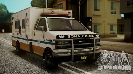 GTA 5 Brute Ambulance IVF для GTA San Andreas