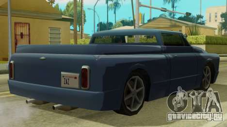 Kounts Pickup PaintJob для GTA San Andreas вид сзади слева