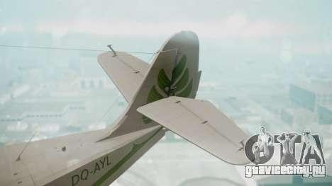 Grumman G-21 Goose DQAYL для GTA San Andreas вид сзади слева