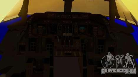 Boeing 747-200 Trans GTA Air для GTA San Andreas вид сзади