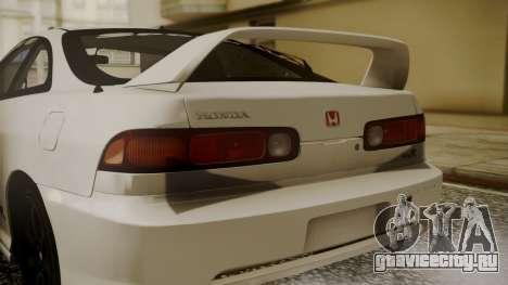 Honda Integra R Spoon для GTA San Andreas вид сзади