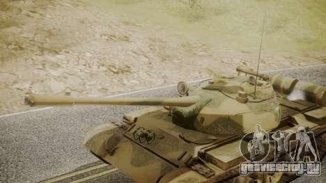 T-55 для GTA San Andreas вид справа