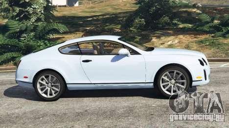 Bentley Continental Supersports [Beta] для GTA 5 вид слева
