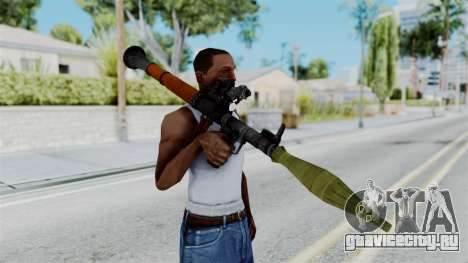 Rocket Launcher from RE6 для GTA San Andreas