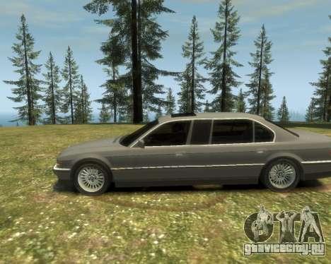 BMW L7 (750IL E38) 2001 для GTA 4 вид справа