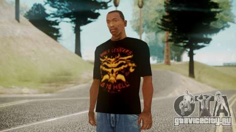 Brock Lesnar Shirt v1 для GTA San Andreas