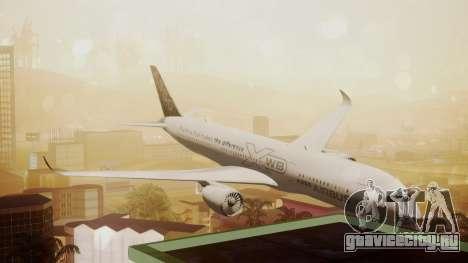 Airbus 350-900XWB Around The World для GTA San Andreas