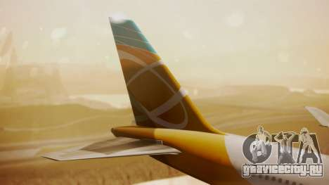 Boeing 767-300 Orbit Airlines для GTA San Andreas вид сзади слева