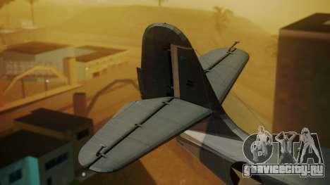 Grumman G-21A Goose для GTA San Andreas вид сзади слева