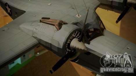 Grumman G-21A Goose для GTA San Andreas вид справа