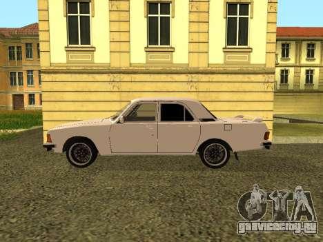 ГАЗ 3102 Волга для GTA San Andreas вид слева