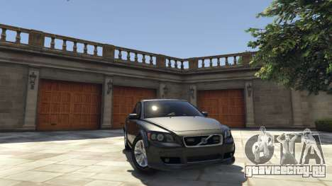 Volvo C30 Unmarked Police для GTA 5