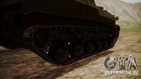 2S9 NONA для GTA San Andreas вид сзади слева