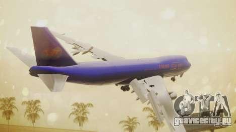Boeing 747-200 Trans GTA Air для GTA San Andreas вид слева