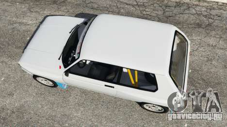 Talbot Samba Groupe B для GTA 5 вид сзади